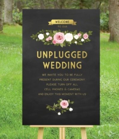 Unplugged Wedding or Not?